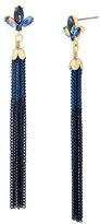 Betsey Johnson Betsey Blues Tassel Earrings