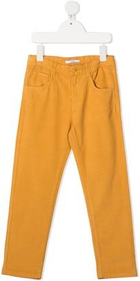 Knot Jake straight-leg corduroy trousers