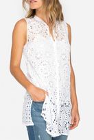 Johnny Was Camioni Eyelet Tunic