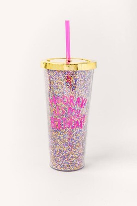francesca's Hooray Birthday To Go Cup - Gold