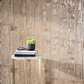 west elm Natural Wood Plank Wallpaper