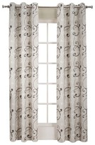 No. 918 Boyd Scroll Print Grommet Curtain Panel