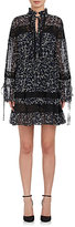 Robert Rodriguez WOMEN'S FLORAL SILK TUNIC DRESS