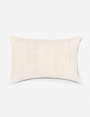 Lulu & Georgia Norala Mudcloth Lumbar Pillow