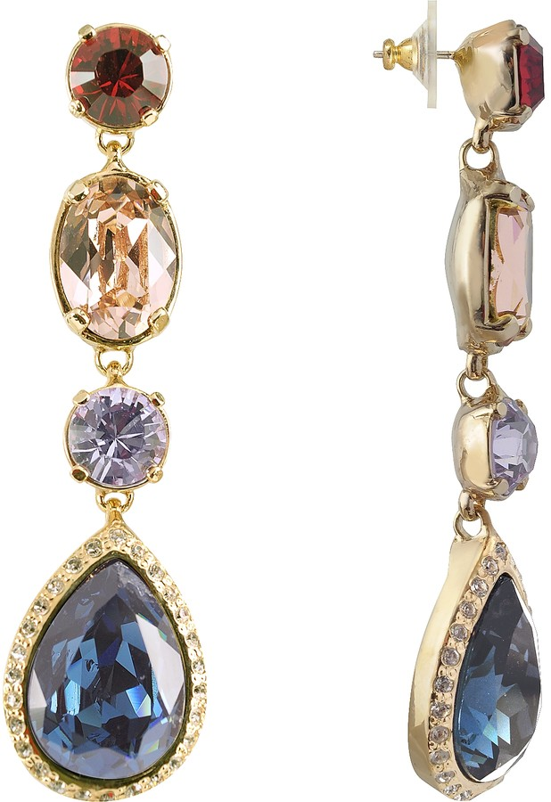 A-Z Collection Multicolor Drop Earrings