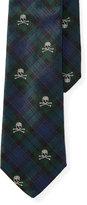 Ralph Lauren Skull Tartan Silk Tie