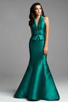 Mac Duggal Couture - 62524 D Emerald Green
