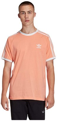 adidas 3-Stripes Tee (White) Men's T Shirt