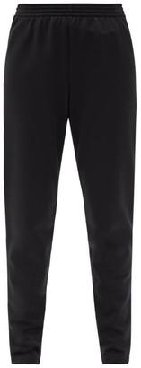 Balenciaga Slim-leg Jersey Track Pants - Black