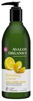 Avalon Lemon Moisturizing Lotion 12 Fl Oz