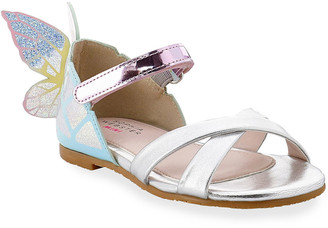 Sophia Webster Girl's Chiara Iridescent 3D Butterfly-Wing Sandals, Baby/Toddlers