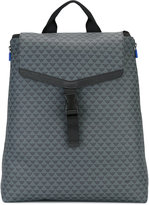 Emporio Armani logo print backpack - men - Polyamide/Polyurethane - One Size