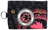 Robin Ruth Canada Black & Red Canada Denim Folding Wallet