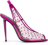Tom Ford sheer embellished slingback sandals