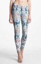 Paige 'Verdugo' Print Ultra Skinny Jeans (Daydreamer)