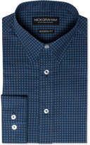 Nick Graham Men's Modern Fitted Flower Dot Dress Shirt