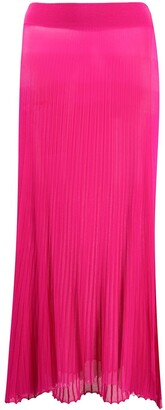 Jacquemus Helado pleated knitted skirt