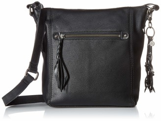 The Sak Women's crossbody Black 11in L x 3.3in W x 11in H; Drop: up to 23 inches