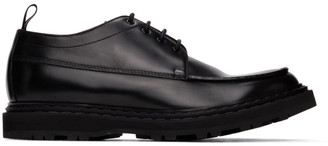 Officine Creative Black Lydon 5 Lace-Up Derbys