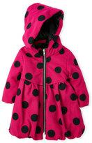 penelope mack (Infant Girls) Polka Dot Hooded Coat