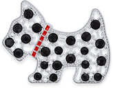 Charter Club Silver-Tone Crystal Scottie Dog Brooch, Only at Macy's
