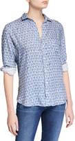 Frank And Eileen Eileen Floral Button-Down Long-Sleeve Modal Shirt
