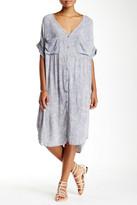 Scrapbook Short Sleeve Pocket Shirt Dress
