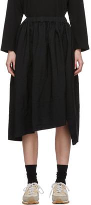 Comme des Garçons Comme des Garçons Black Diagonal Stitch Skirt