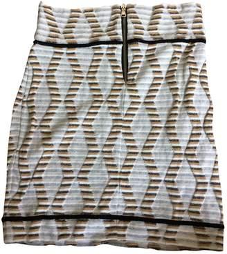 Olga Maison Multicolour Cotton - elasthane Skirt for Women
