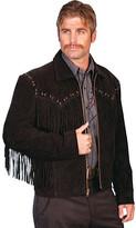 Scully Boar Suede Fringe Jacket 221 (Men's)
