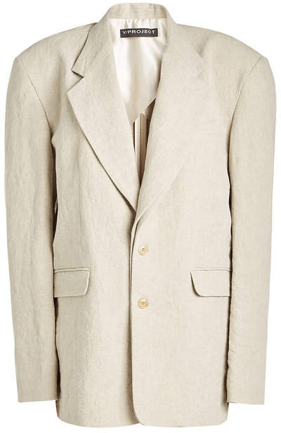 Y/Project Layered Linen Blazer
