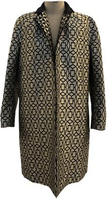 Haider Ackermann Silver Polyester Coats