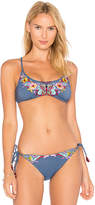 Nanette Lepore Enchantress Top in Blue. - size L (also in M,S,XS)