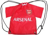 Arsenal FC Official Football Shirt Shaped Drawstring Gym Bag