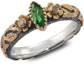 Emma Chapman Jewels Madison Tsavorite & Diamond Ring