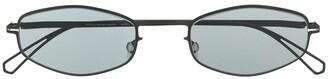 Mykita Oval Frame Sunglasses