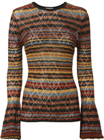 Ronny Kobo Marcia Striped Sweater