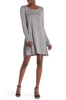 Love, Fire Bell Sleeve Solid Knit Dress