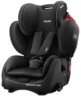 Recaro Young Sport Hero Group 1/2/3 Car Seat, Performance Black