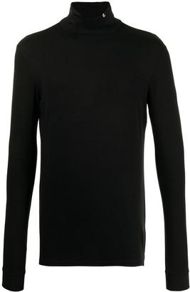 Raf Simons logo turtleneck T-shirt