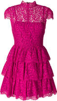 Alice + Olivia Alice+Olivia lace ruffled dress