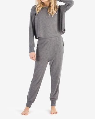Express Honeydew Intimates Long Sleeve Lounge Sweatshirt