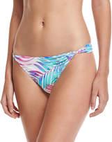 6 Shore Road Bianca Twist-Side Swim Bikini Bottom, Multi