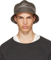 Rick Owens Grey Gilligan Bucket Hat