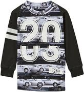 Molo Car Stripe Long Sleeve T-Shirt