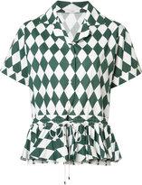 Tome flared hem shirt - women - Cotton - XS