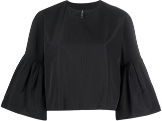 Givenchy Puff Sleeves Zipped Jacket