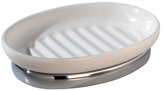 InterDesign York Soap Dish with Disk