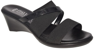 Italian Shoemakers Lorel Strappy Wedge Sandal