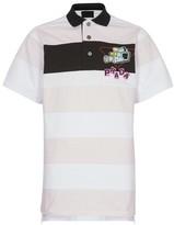 Prada Striped rugby polo shirt